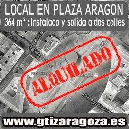 Local Comercial 354 metros en pleno centro de Zaragoza