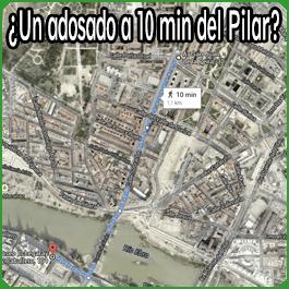 adosado a 10 min del Pilar....
