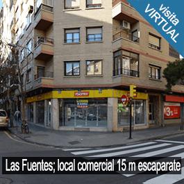 Local Comercial en Las Fuentes, 15 metros de escaparate