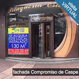 GTI Zaragoza: Local Compromiso de Caspe