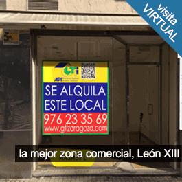 GTI Zaragoza: Local León XIII