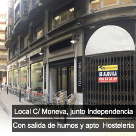 Local Comercial C/Moneva