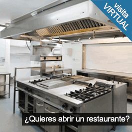 GTI Zaragoza: Local Instalado como Restaurante