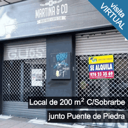 Local Comercial C/Sobrarbe