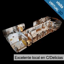GTI Zaragoza: Local en la mejor zona de C/Delicias