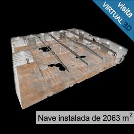 Empresarium: Nave instalada de 2063 metros