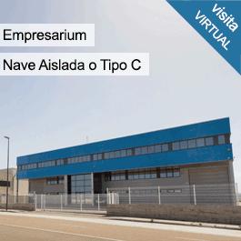 Empresarium: Nave instalada con dos plantas de oficinas