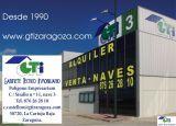 GTI Zaragoza: NAVE ALMACÉN CON ALUMBRADO ASEO Y OF