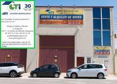 GTI Zaragoza: NAVE EN VENTA CON PUENTE GRÚA DE 1.5